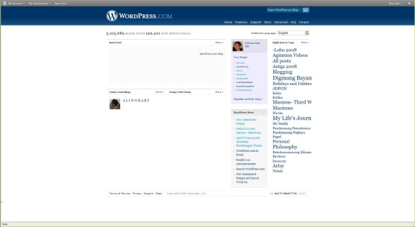 Wordpress in Filipino
