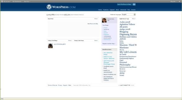 Wordpress in Filipino